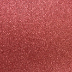 Best Creation Inc - 12 x 12 Glitter Cardstock - French Red