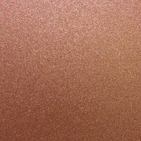 Best Creation Inc - 12 x 12 Glitter Cardstock - Coral