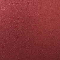 Best Creation Inc - 12 x 12 Glitter Cardstock - Wine Red