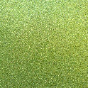 Best Creation Inc - 12 x 12 Glitter Cardstock - Olive Green