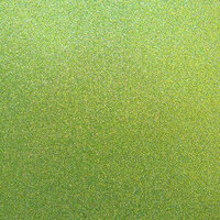 Best Creation Inc - 12 x 12 Glitter Cardstock - Olive Green