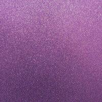 Best Creation Inc - 12 x 12 Glitter Cardstock - Purple