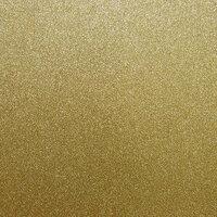 Best Creation Inc - 12 x 12 Glitter Cardstock - Champagne