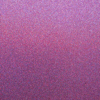 Best Creation Inc - 12 x 12 Glitter Cardstock - Plum Delight