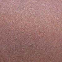Best Creation Inc - 12 x 12 Glitter Cardstock - Coral Gem