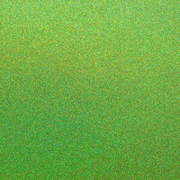 Best Creation Inc - 12 x 12 Glitter Cardstock - Kiwi Gem