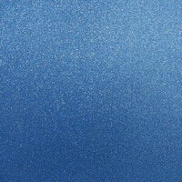 Best Creation Inc - 12 x 12 Glitter Cardstock - Sapphire Gem
