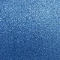 Best Creation Inc - 12 x 12 Glitter Cardstock - Sapphire Gem