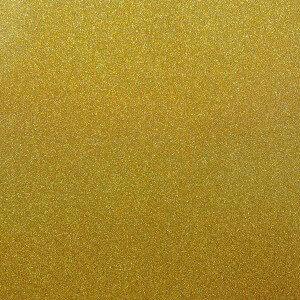 Best Creation Inc - 12 x 12 Glitter Cardstock - Sunshine Gem