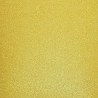 Best Creation Inc - 12 x 12 Glitter Cardstock - Yellow
