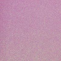 Best Creation Inc - 12 x 12 Glitter Cardstock - Hot Purple