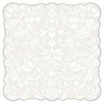 Best Creation Inc - Mr. and Mrs. Collection - 12 x 12 Die Cut Glitter Paper - I Do Patterns