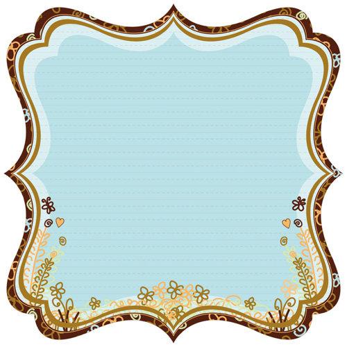 Best Creation Inc - Safari Boy Collection - 12 x 12 Die Cut Glitter Paper - Jungle Forest