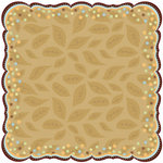 Best Creation Inc - Safari Boy Collection - 12 x 12 Die Cut Glitter Paper - Little Lover