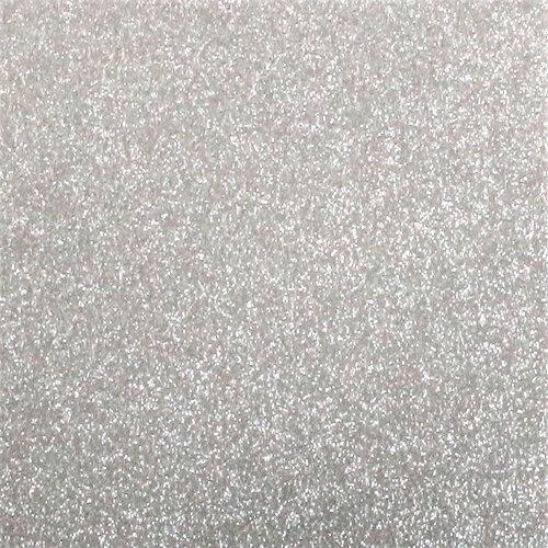 Best Creation Inc - 12 x 12 Gloss Glitter Paper - Silver