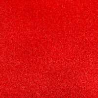 Best Creation Inc - 12 x 12 Gloss Glitter Paper - Red