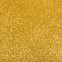 Best Creation Inc - 12 x 12 Gloss Glitter Paper - Gold