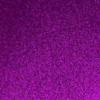 Best Creation Inc - 12 x 12 Gloss Glitter Paper - Purple