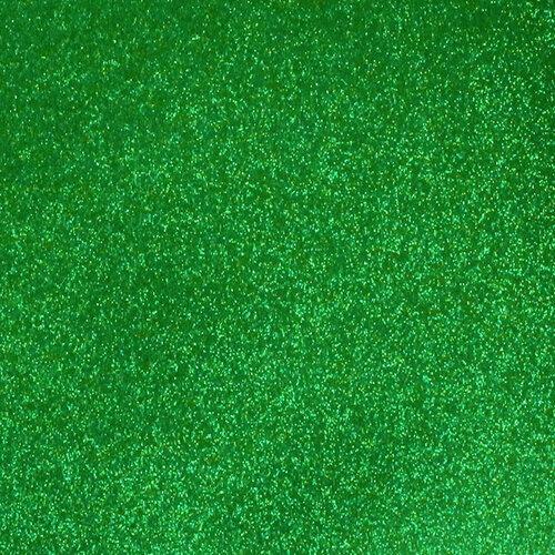 Best Creation Inc - 12 x 12 Gloss Glitter Paper - Green