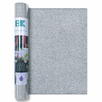 Best Creation Inc - Glitter Iron On - 12 Inch - Silver