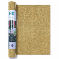 Best Creation Inc - Glitter Iron On - 12 Inch - Gold