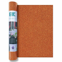 Best Creation Inc - Glitter Iron On - 12 Inch - Orange
