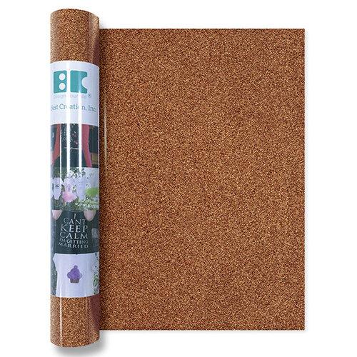 Best Creation Inc - Glitter Iron On - 12 Inch - Copper