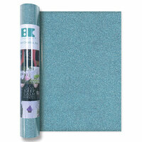 Best Creation Inc - Glitter Iron On - 12 Inch - Sky Blue