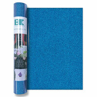 Best Creation Inc - Glitter Iron On - 12 Inch - Ocean Blue