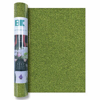 Best Creation Inc - Glitter Iron On - 12 Inch - Light Green