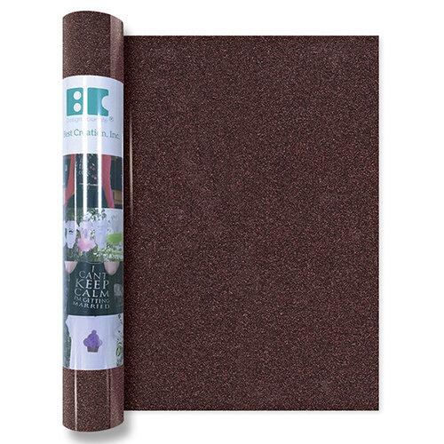 Best Creation Inc - Glitter Iron On - 12 Inch - Brown