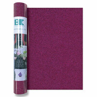 Best Creation Inc - Glitter Iron On - 12 Inch - Fuchsia