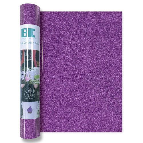 Best Creation Inc - Glitter Iron On - 12 Inch - Bright Purple