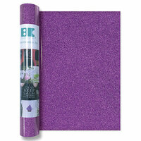 Best Creation Inc - Glitter Iron On - 12 Inch - Bright Purple