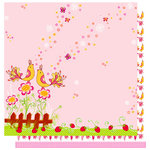 Best Creation Inc - Sweetie Pie Collection - 12 x 12 Double Sided Glitter Paper - Sweetie Pie