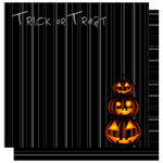 Best Creation Inc - Trick or Treat Collection - 12 x 12 Double Sided Glitter Paper - Trick or Treat Words