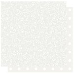 Best Creation Inc - Mr. and Mrs. Collection - 12 x 12 Double Sided Glitter Paper - Mr. and Mrs. Swirls