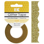 Best Creation Inc - Glitter Tape - Fancy Wave - Gold