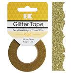 Best Creation Inc - Glitter Tape - Fancy Wave - Gold