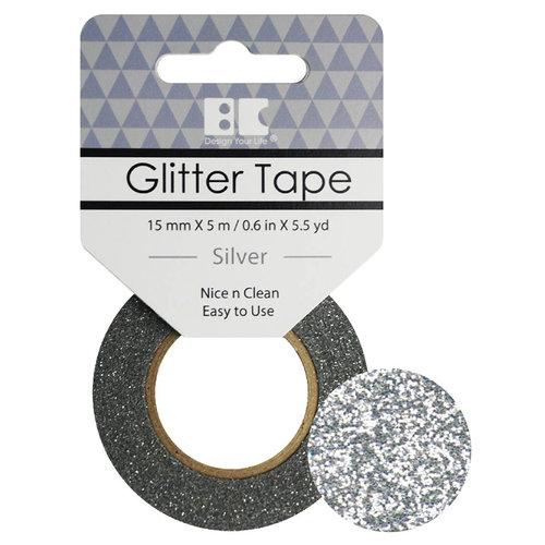 Best Creation Inc - Glitter Tape - Silver