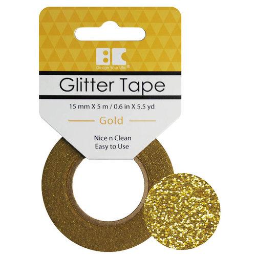 Best Creation Inc - Glitter Tape - Gold