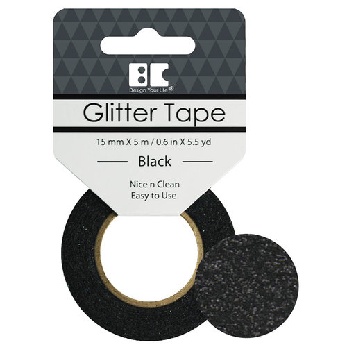 Best Creation Inc - Glitter Tape - Black