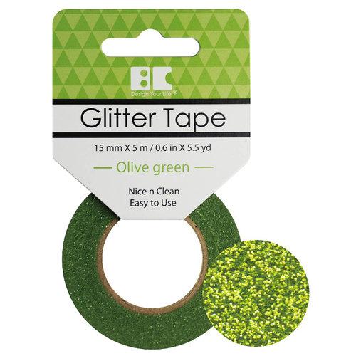 Best Creation Inc - Glitter Tape - Olive Green