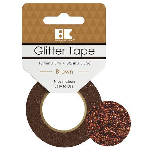 Best Creation Inc - Glitter Tape - Brown