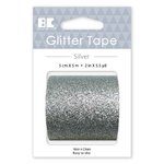 Best Creation Inc - Glitter Tape - Silver - 50mm