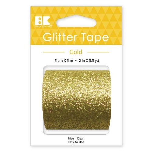Best Creation Inc - Glitter Tape - Gold - 50mm