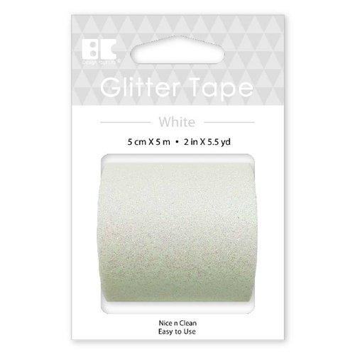 Best Creation Inc - Glitter Tape - White - 50mm