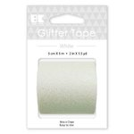 Best Creation Inc - Glitter Tape - White - 50mm