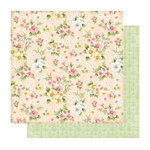 Best Creation Inc - A Little Dream Collection - 12 x 12 Double Sided Glitter Paper - Love