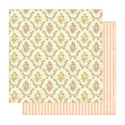 Best Creation Inc - A Little Dream Collection - 12 x 12 Double Sided Glitter Paper - Joy